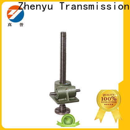 Zhenyu swl worm gear screw jack equipment for printing