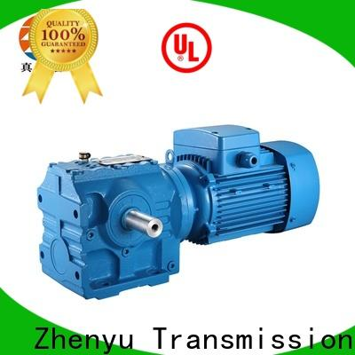 Zhenyu stage electric motor speed reducer free quote for wind turbines