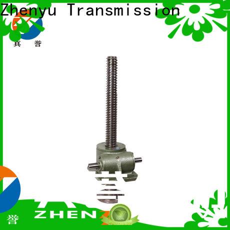 Zhenyu motor manual screw jack for cement