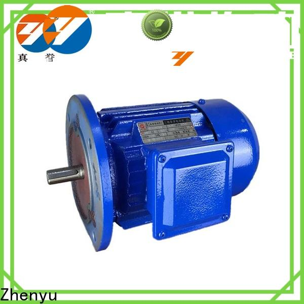 Zhenyu 12v electric motor supply free design for chemical industry