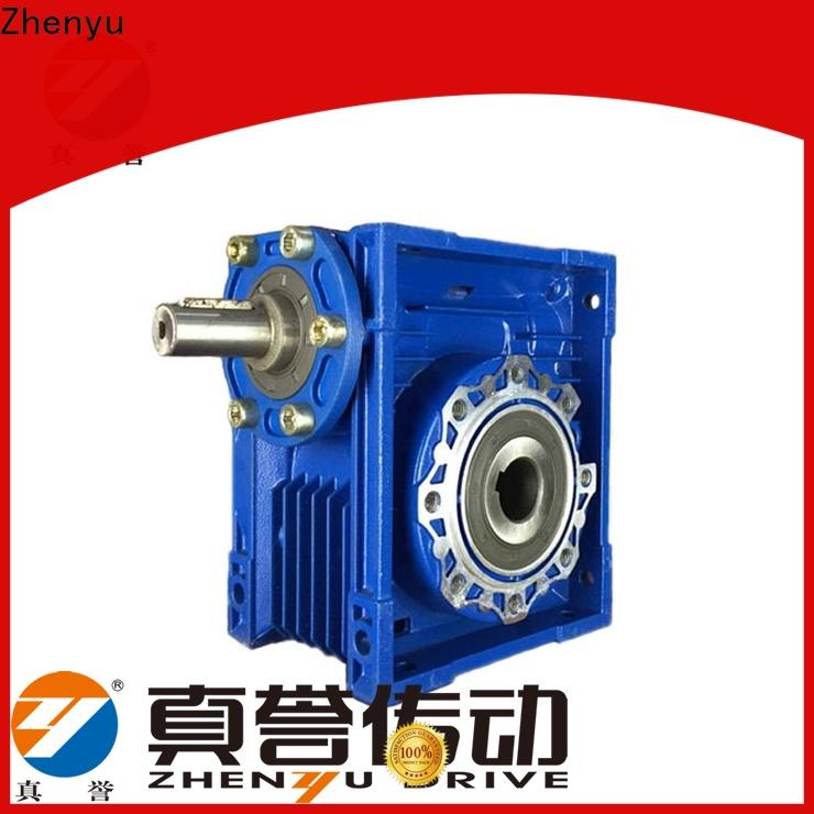 Zhenyu price worm gear speed reducer order now for metallurgical
