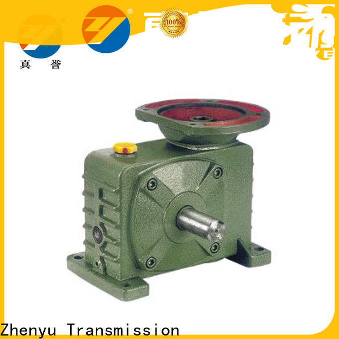 Zhenyu motor speed reducer widely-use for transportation