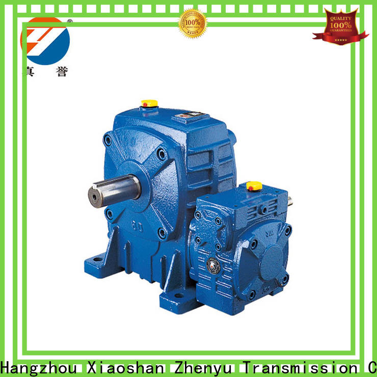 Zhenyu iron speed reducer for electric motor China supplier for cement