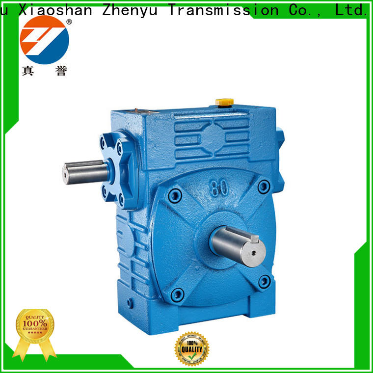 Zhenyu wps worm gear speed reducer free quote for construction