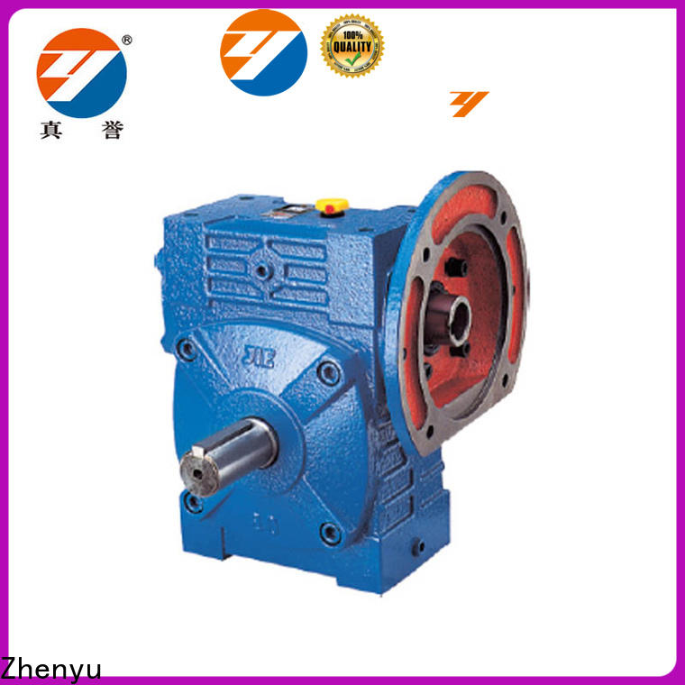 Zhenyu cast reduction gear box China supplier for printing