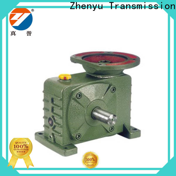 Zhenyu high-energy electric motor speed reducer certifications for light industry