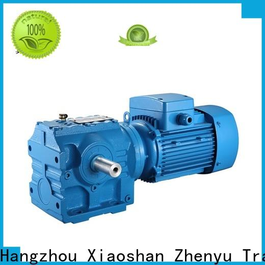 Zhenyu rpm speed reducer for electric motor free design for lifting