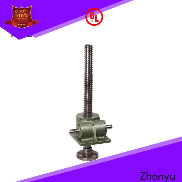 Zhenyu caster electric screw jack effectively for machinery