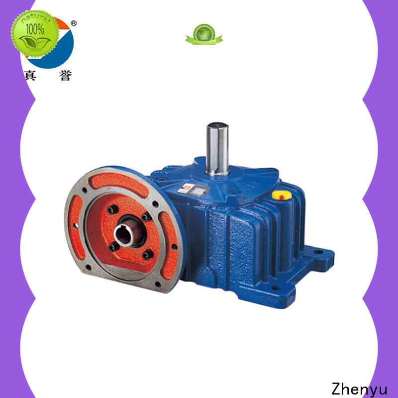 Zhenyu first-rate speed reducer for electric motor long-term-use for chemical steel