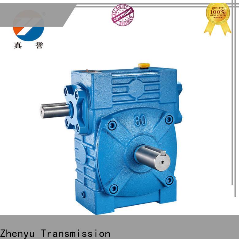 Zhenyu wpo gear reducer certifications for wind turbines