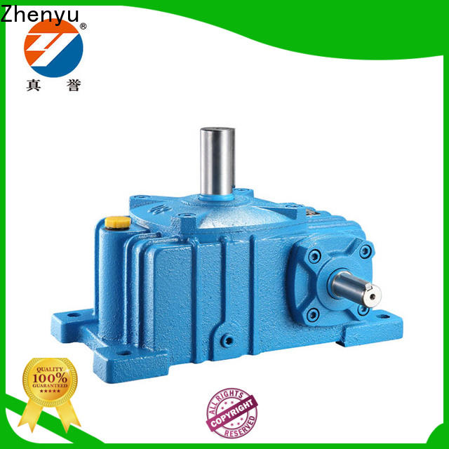 Zhenyu converter gear reducer box order now for transportation