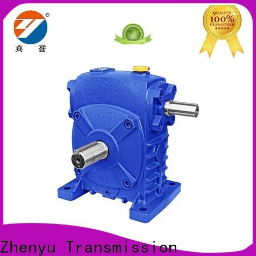 Zhenyu wpo speed reducer motor free design for light industry