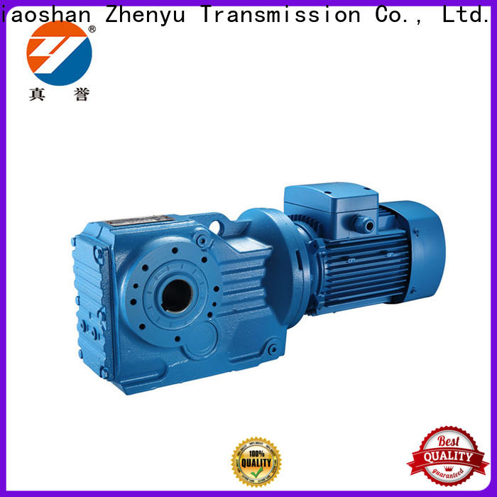 Zhenyu  overview gear reducer widely-use for transportation