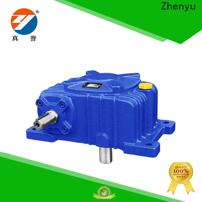 Zhenyu effective gear reducers free design for cement