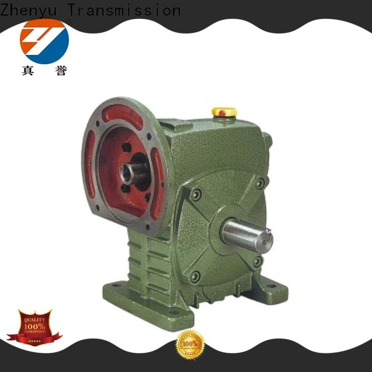 Zhenyu transmission speed reducer for electric motor China supplier for mining