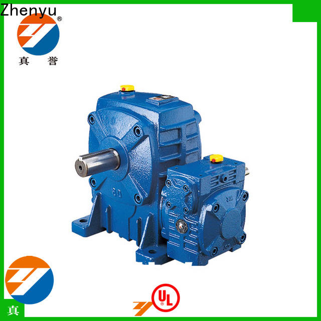 Zhenyu eco-friendly variable speed gearbox order now for mining