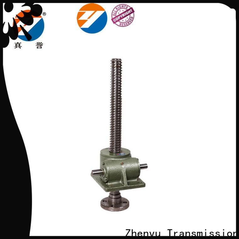Zhenyu easy operation screw jack mechanism effectively for hydraulics