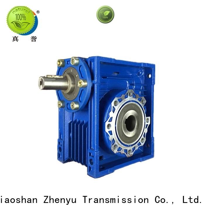 Zhenyu first-rate electric motor gearbox free design for chemical steel
