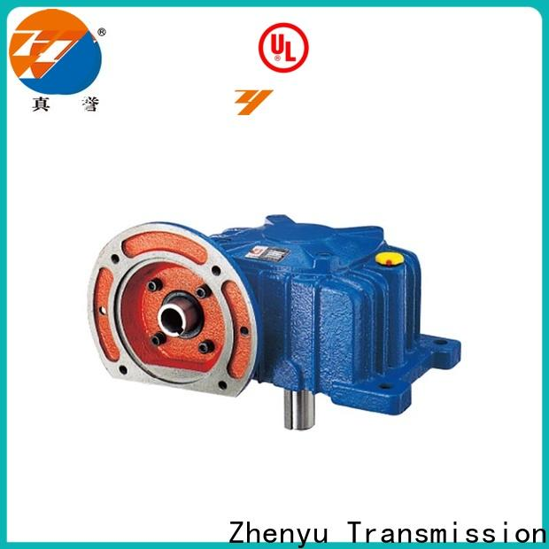 Zhenyu iron gear reducers long-term-use for lifting