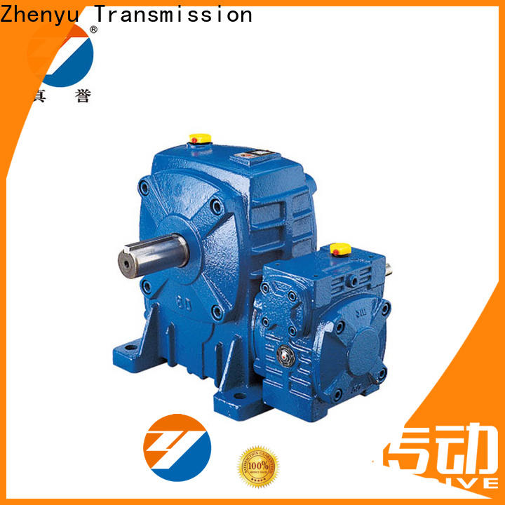 Zhenyu low speed reducer gearbox order now for cement