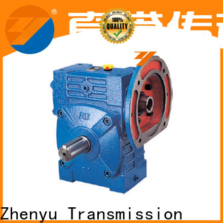 Zhenyu wpds gear reducer gearbox order now for chemical steel