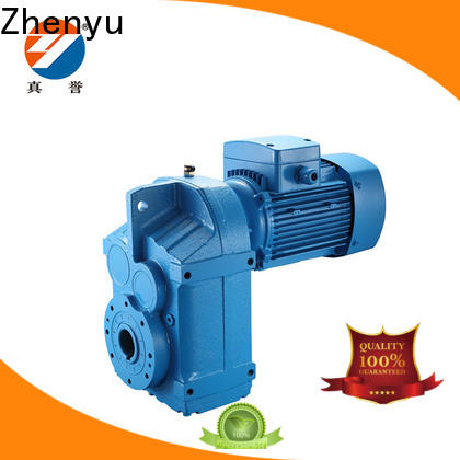 Zhenyu fine- quality electric motor speed reducer widely-use for construction