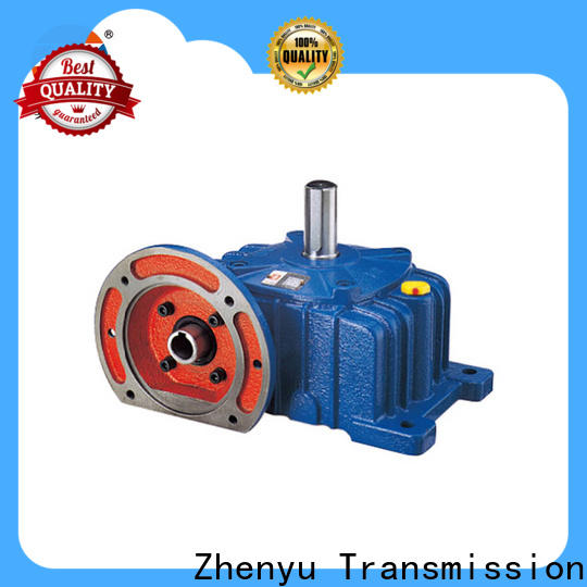 Zhenyu new-arrival inline gear reducer long-term-use for chemical steel