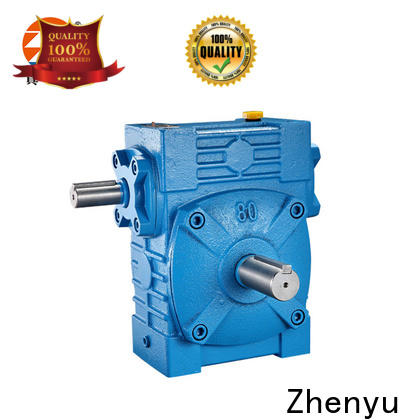 Zhenyu wpws speed reducer gearbox order now for construction