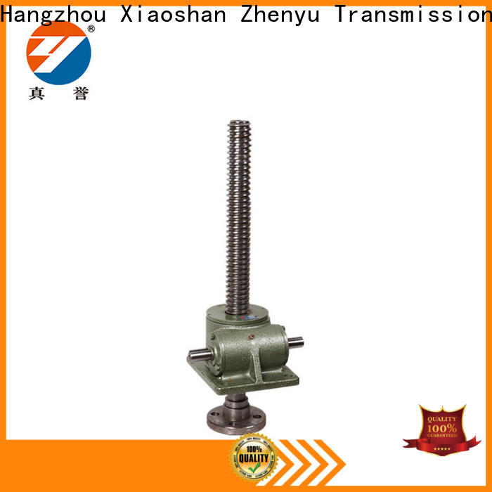 Zhenyu jack mechanical screw jack equipment for printing