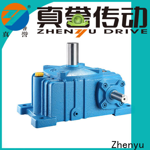 Zhenyu new-arrival gear reducer box certifications for lifting