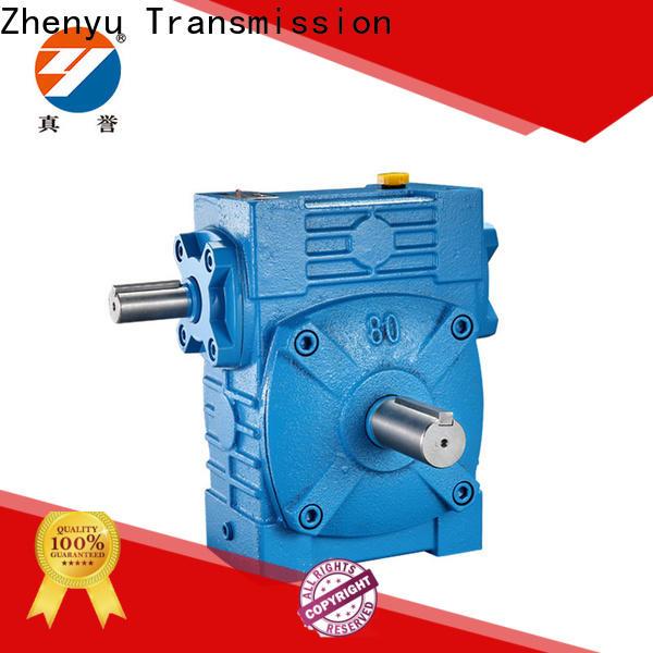 Zhenyu new-arrival worm gear speed reducer order now for wind turbines