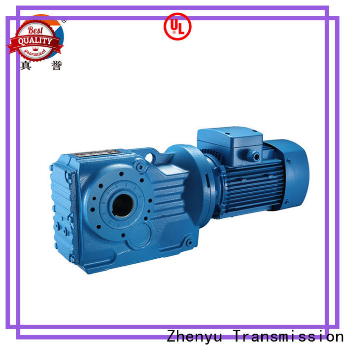 low cost drill speed reducer helical China supplier for chemical steel