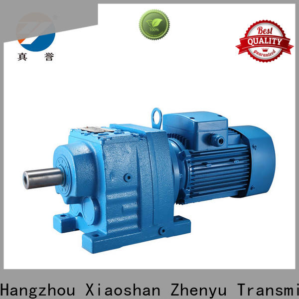 Zhenyu reducer electric motor gearbox China supplier for transportation