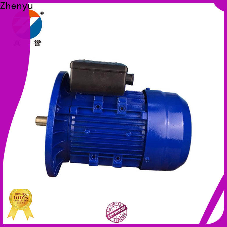 Zhenyu eco-friendly ac single phase motor for transportation
