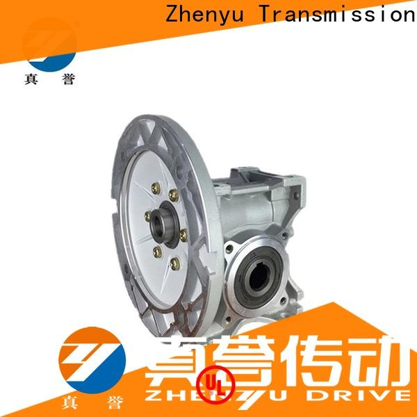 Zhenyu new-arrival electric motor gearbox order now for construction