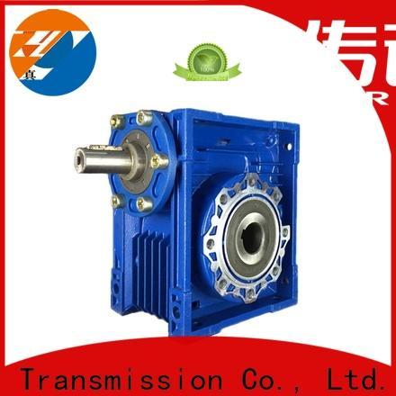 Zhenyu blue worm gear speed reducer for wind turbines