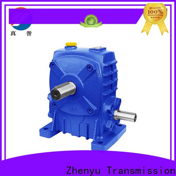 Zhenyu shaft speed reducer gearbox free design for cement