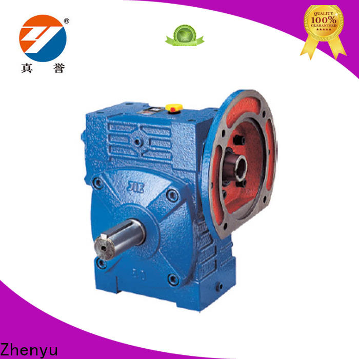 Zhenyu hot-sale reduction gear box China supplier for light industry
