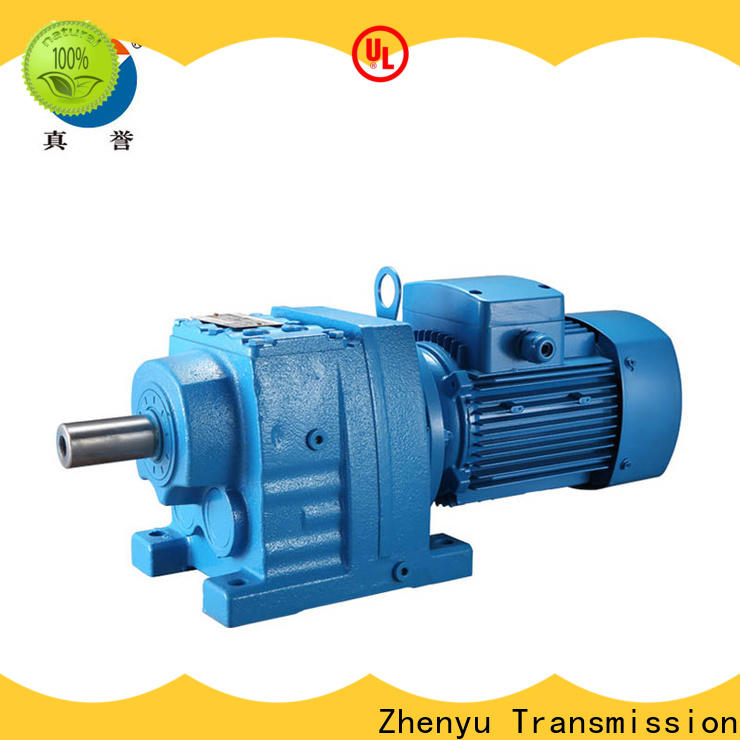 Zhenyu green worm drive gearbox order now for light industry