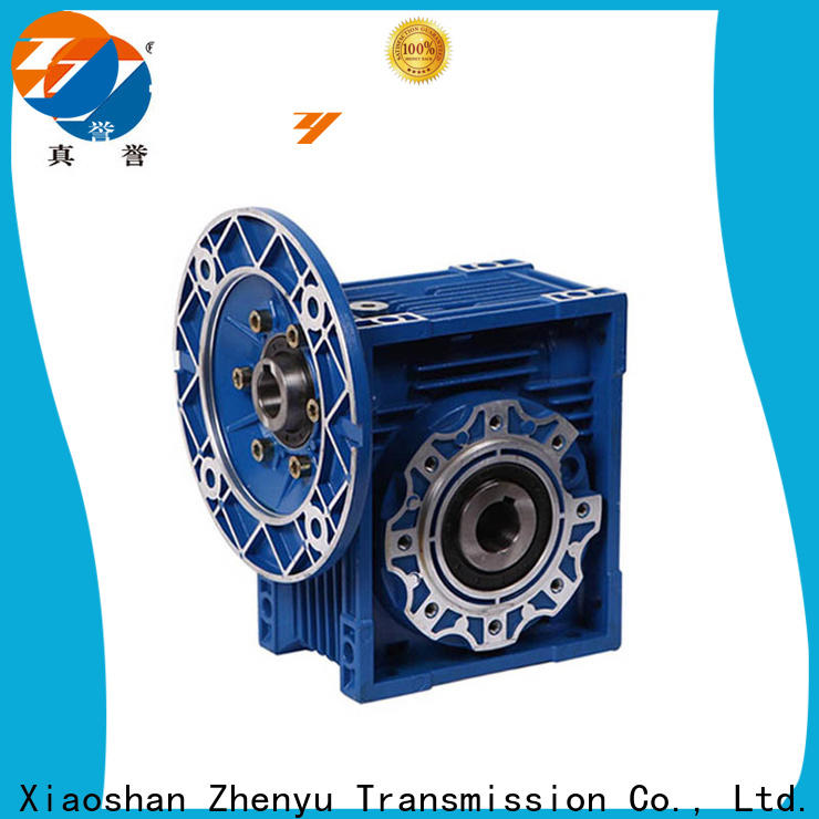 Zhenyu high-energy worm gear speed reducer certifications for chemical steel