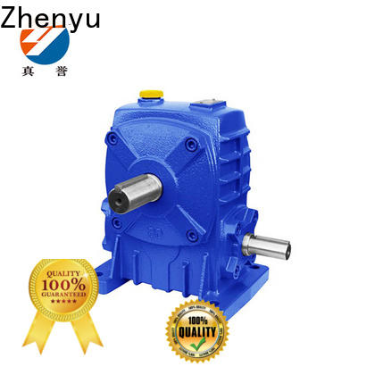 Zhenyu first-rate electric motor gearbox free design for transportation
