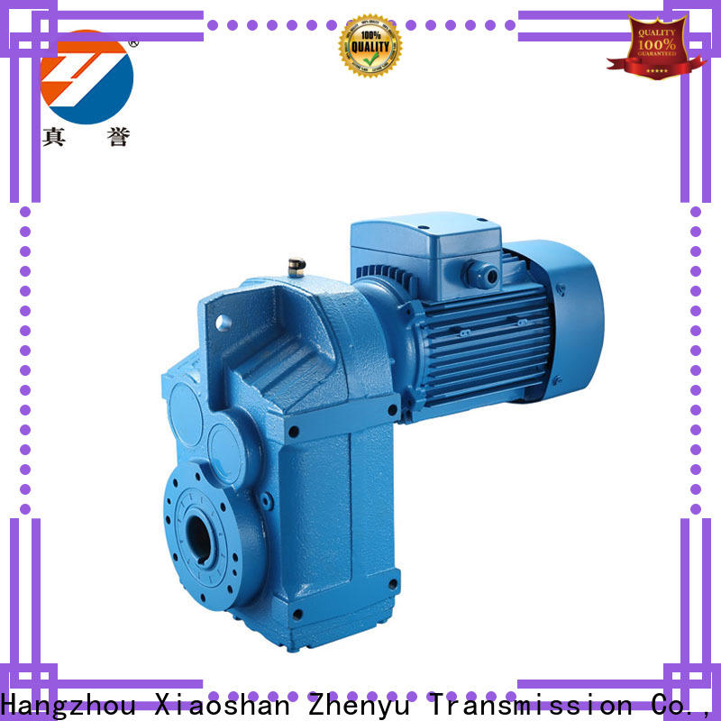 Zhenyu new-arrival speed reducer for electric motor free design for wind turbines