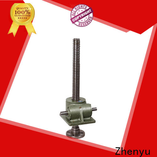 Zhenyu easy operation machine screw jack factory for mining