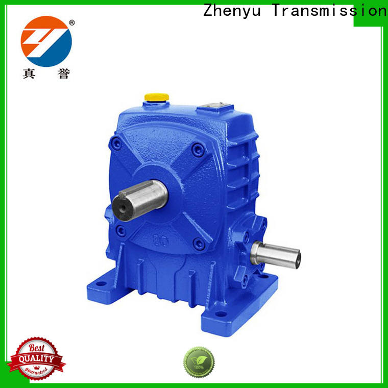 Zhenyu price gear reducer gearbox widely-use for chemical steel