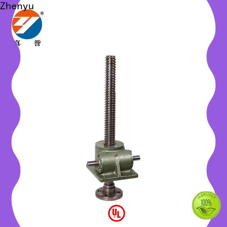Zhenyu swl hand operated screw jack producer for light industry