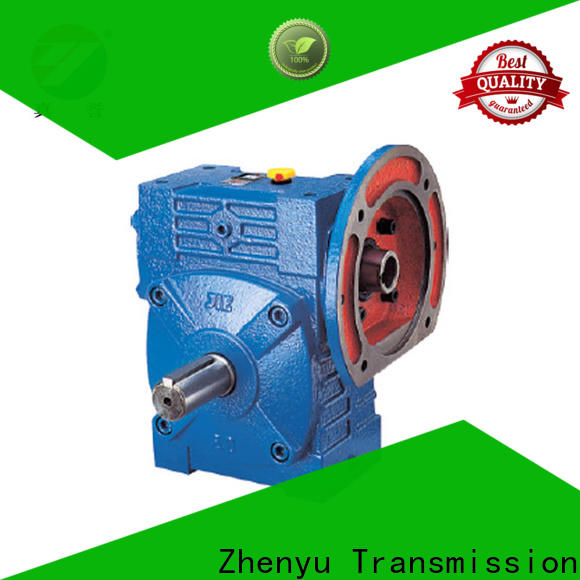 Zhenyu mixer variable speed gearbox order now for light industry