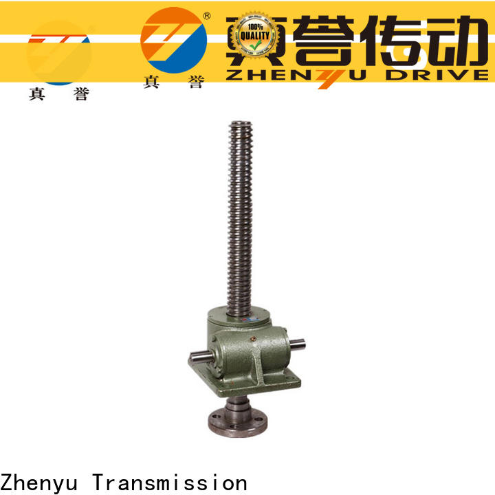 manual types of screw jack screw equipment for construction