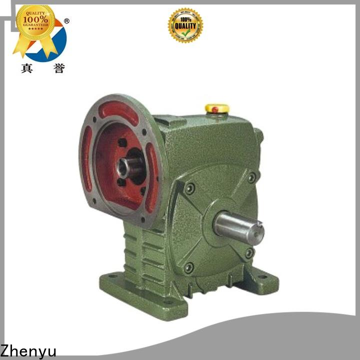Zhenyu low cost sewing machine speed reducer certifications for cement