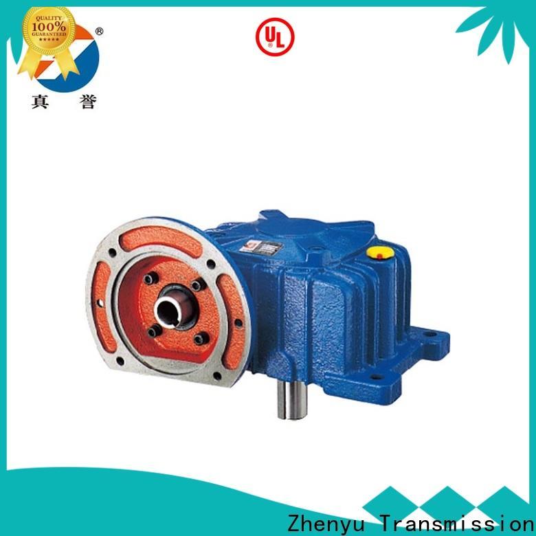 Zhenyu machine gear reducer certifications for cement