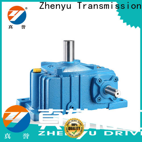 Zhenyu newly worm gear speed reducer for printing